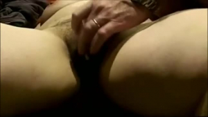 Mature lady really likes scissoring and fingering her best friend's soaking wet pussy, on the sofa