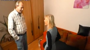 German milf is using an opportunity for a good fuck, instead of getting ready for work