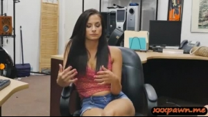 Perky tits babe fucked by gent